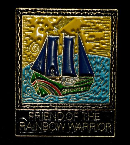 Badge, 'Friend Of The Rainbow Warrior'