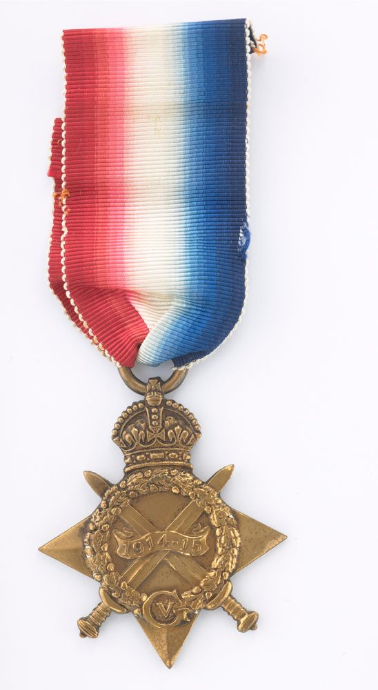 1914-15 Star medal - Museum of New Zealand Te Papa Tongarewa