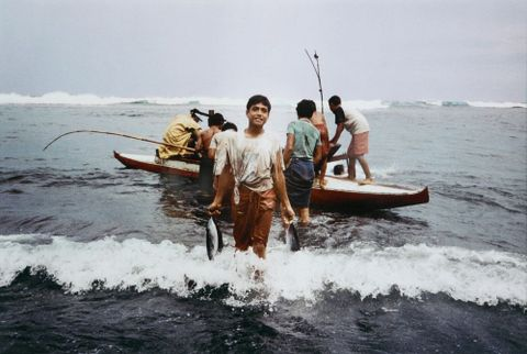 Sataua, Savai'i, Western Samoa, 1982. From the series: Polynesia here and there