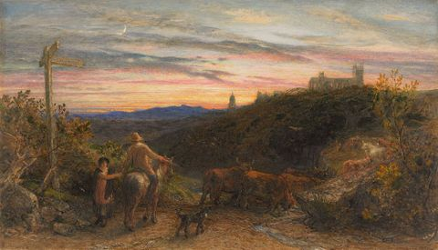 1954-0020-1; The good farmer; 1865; Palmer, Samuel ; without frame; colour corrected (image/jpeg)