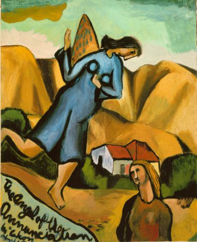 Tales from Te Papa Episode 10: Angel of the Annunciation by Colin McCahon