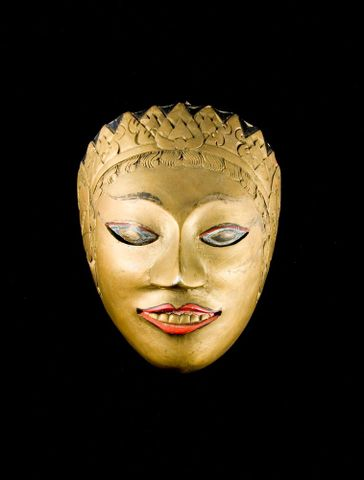 GH014121; Tari topeng mask; 20th century; Unknown (image/jpeg)