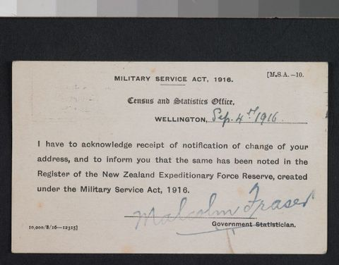 change of address notice collections online museum of new