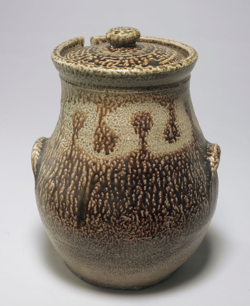 GH010102; Lidded Storage Jar; Circa 1960; Brickell, Barry ; View 5