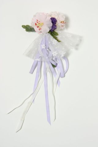Doll's clothes, flower posy