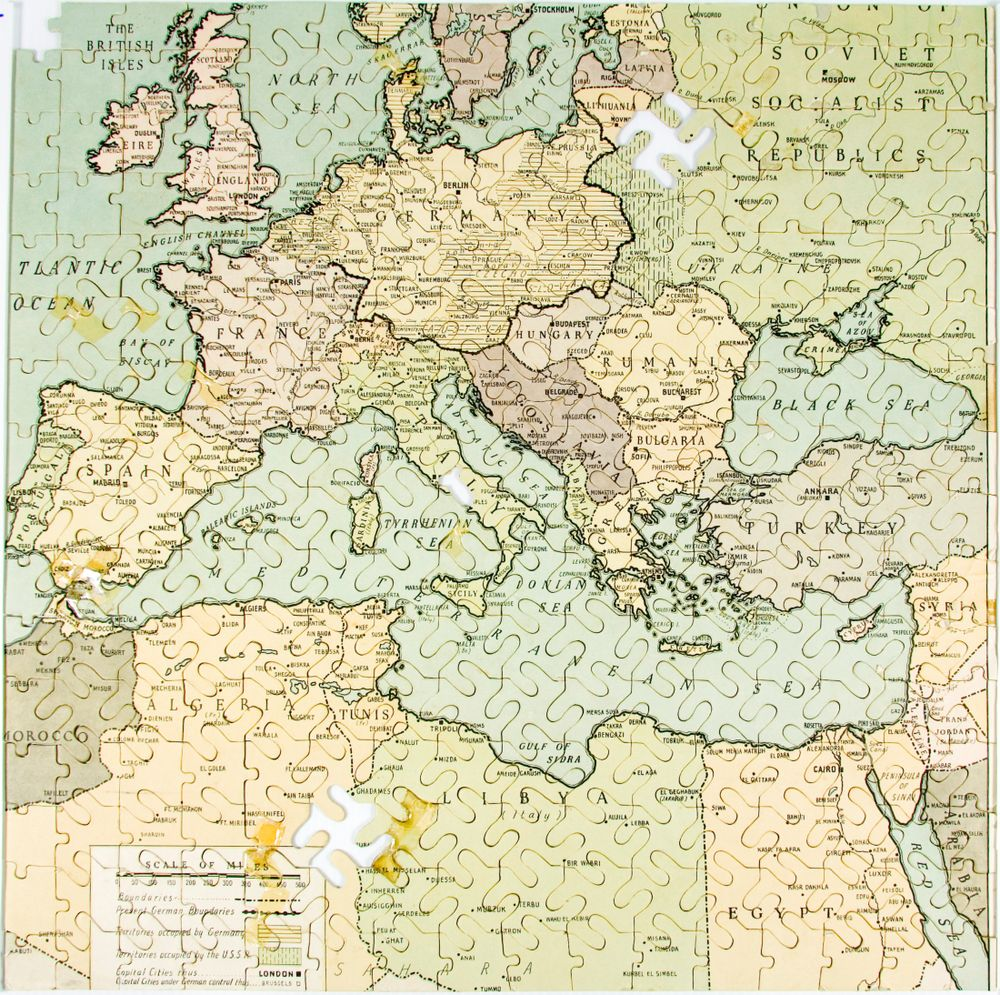 Jigsaw puzzle the puzzle of europe collections online museum gh0120474 jigsaw puzzle the puzzle of europe gumiabroncs Image collections