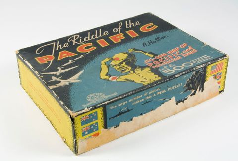 Jigsaw puzzle, 'The Riddle of the Pacific'