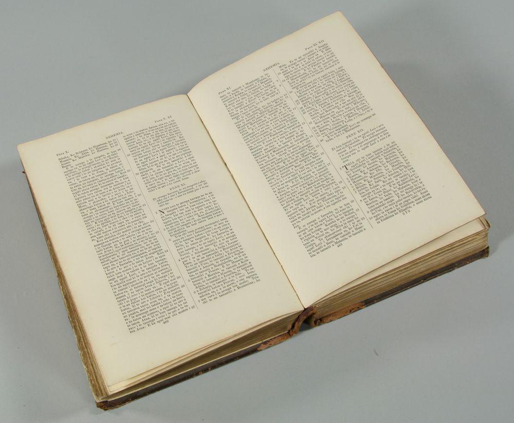 Bibilia Tapu Ra Bible Collections Online Museum Of New Zealand Te Papa Tongarewa