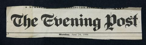 Evening Post Title