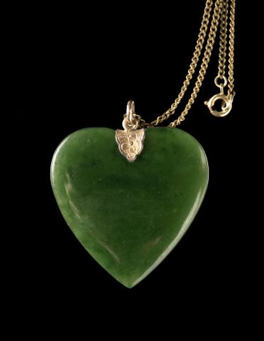 ME016926; heart necklace; Unknown ; view 1 (image/tiff)