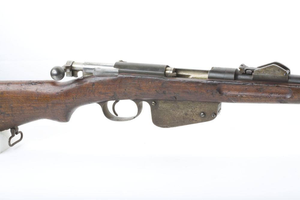 Bolt action rifle, Steyr Mannlicher Model 1886 | Collections