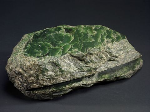 ME024004; Sawn Pounamu Boulder; Unknown ; view 5 (image/tiff)
