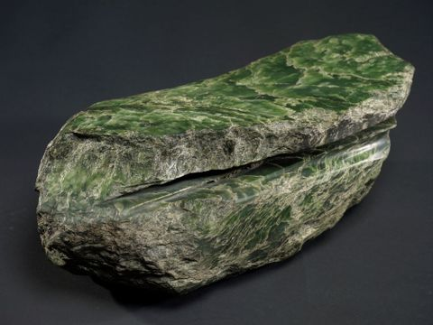 ME024004; Sawn Pounamu Boulder; Unknown ; view 6 (image/tiff)