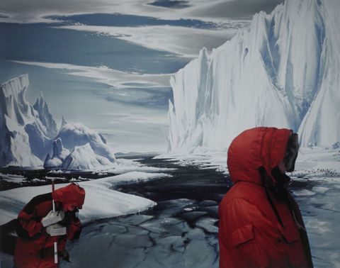 The Barne Glacier, Antarctic Centre, Christchurch, 2003