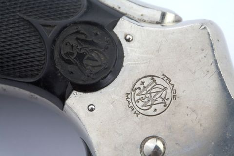 Revolver, Smith & Wesson  32 Safety Hammerless [3rd Model