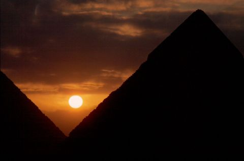 Pyramids of Giza | Collections Online - Museum of New Zealand Te