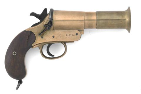 DM000435; Flare pistol ; without frame (image/jpeg)