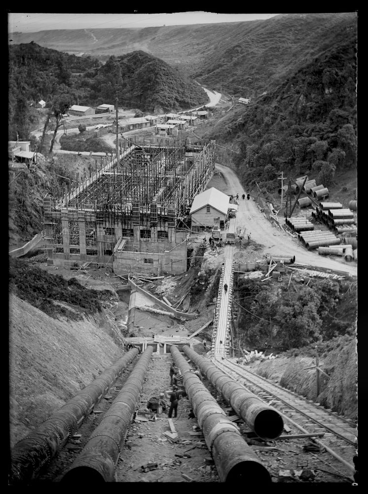 Mangahao Hydro-Electric Scheme : 1923   Collections Online - Museum ...