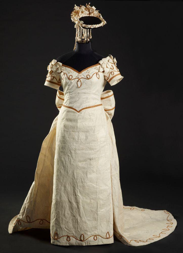Wedding Dress Collections Online Museum Of New Zealand Te Papa