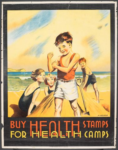 Poster, 'Buy Health Stamps'