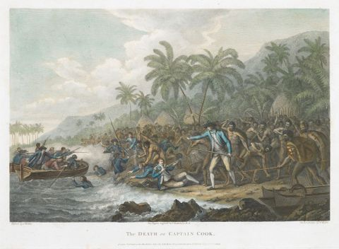 Captain Cook's third voyage (Jul 1776-Oct 1780)