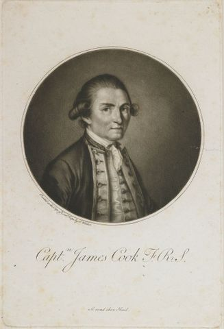 Biography of Captain James Cook FRS