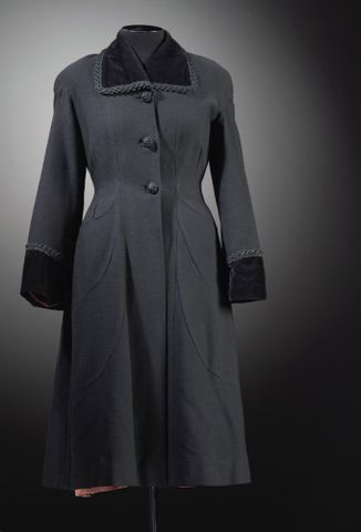 GH016188; Coat, woman's; 1950s; El Jay ; view 2 (image/tiff)