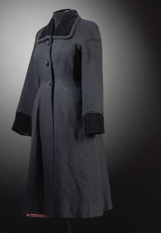 GH016188; Coat, woman's; 1950s; El Jay ; view 3 (image/tiff)