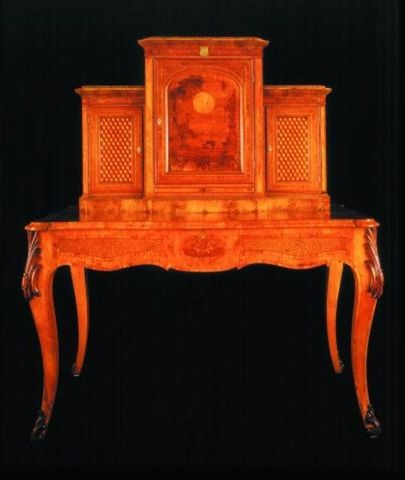 Seuffert, Anton; Hooker cabinet,  writing desk - PF000206 (image/jpeg)