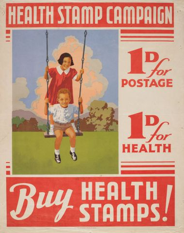Poster, 'Health Stamp Campaign'