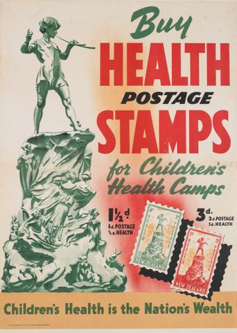 Poster, 'Buy Health Postage Stamps'