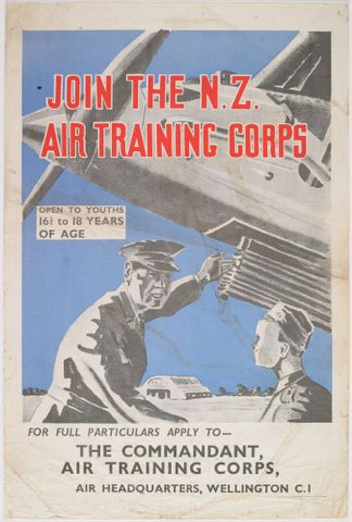 Poster, 'Join The N.Z. Air Training Corps'