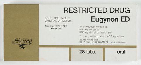 Eugynon ED contraceptive pill