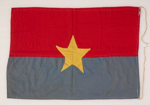 GH015795; Flag; 1967; Lowe, Jeremy ; Recto (image/tiff)