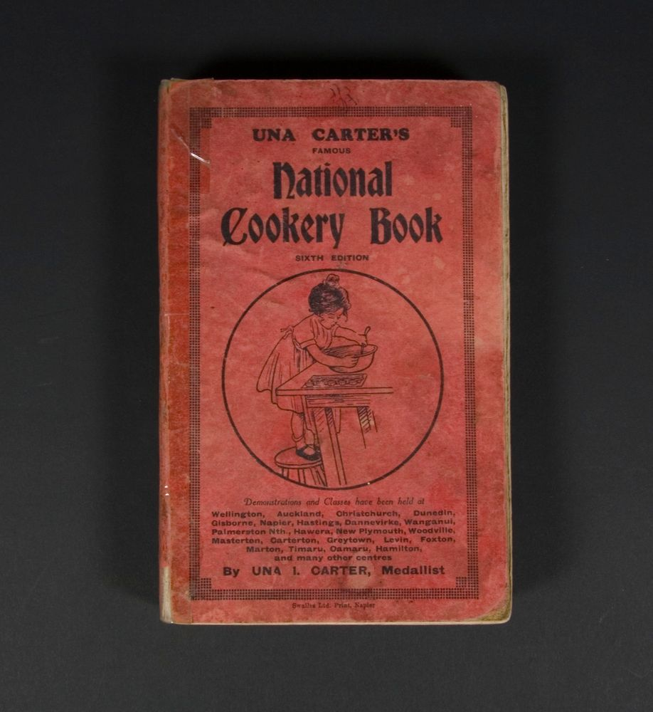 Book Una Carter S Famous National Cookery Book Collections