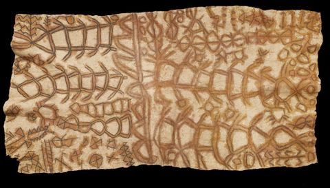FE000273; Barkcloth (tapa cloth); 1800s; Ni Vanuatu; Unknown; cropped (image/jpeg)