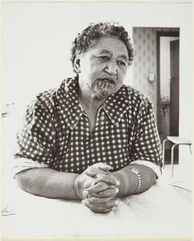 Rea Rewiri. From the series: The Moko Suite