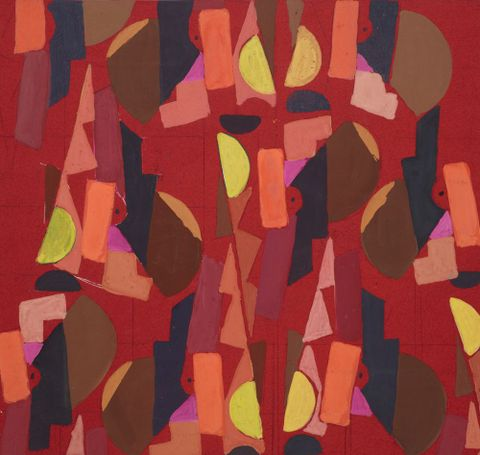 Untitled (Textile design no VI)