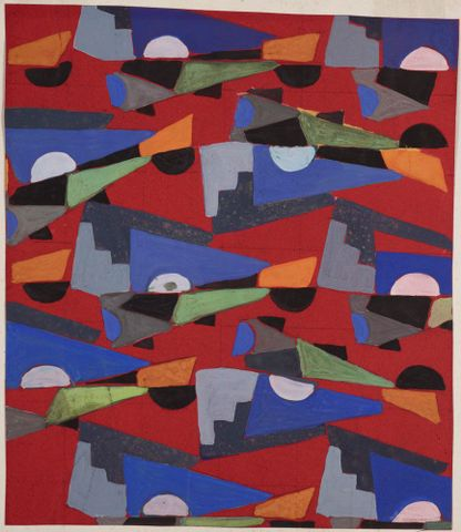 Untitled (Textile design no VIII)