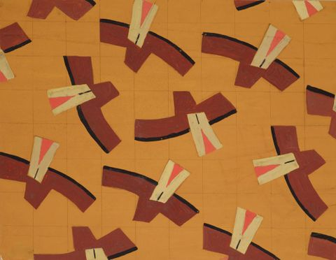Untitled (Textile design no III)