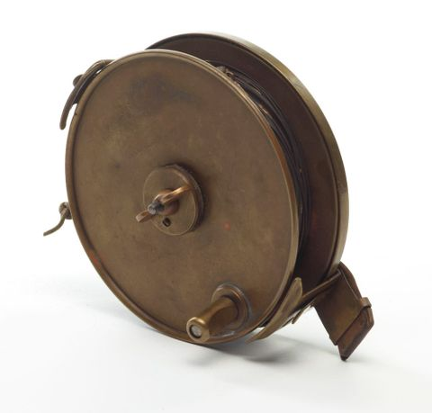 GH003720; Surveyor's steel band measuring tape.; circa 1930; Bolt and Sutherland (image/tiff)