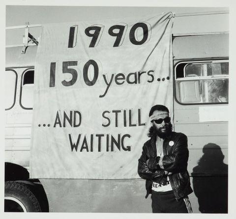 Waitangi protest, 1990
