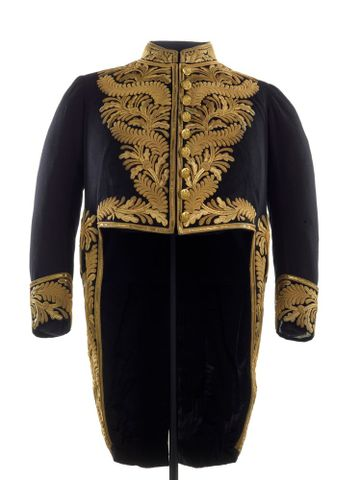 Coatee (short coat) for Seddon's Civil Uniform, Full Dress
