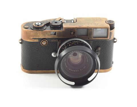 TMP009260; Leica M2 camera, with 35mm lens, owned by Brian Brake; 1958 (image/tiff)