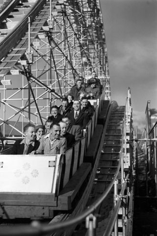 Rollercoaster, New Zealand Centennial Exhibition, Wellington (image/tiff)