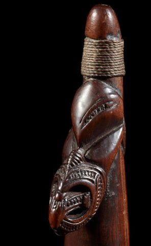 OL001039; Putorino (bugle flute); 1700-1850; Unknown ; detail 05 (image/tiff)