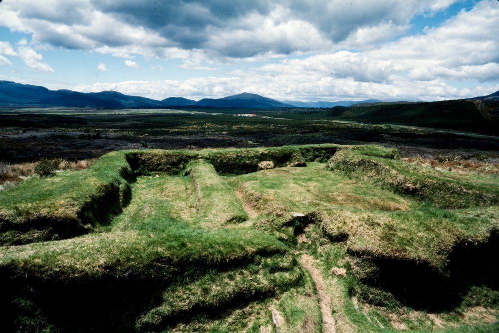 New Zealand Maori Pa Site