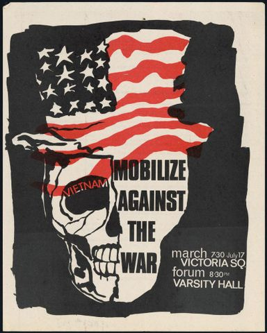 Anti-Vietnam War poster