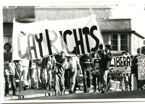 Gay lobby, 1970s