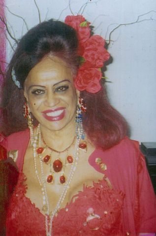 Carmen, a transgender icon.